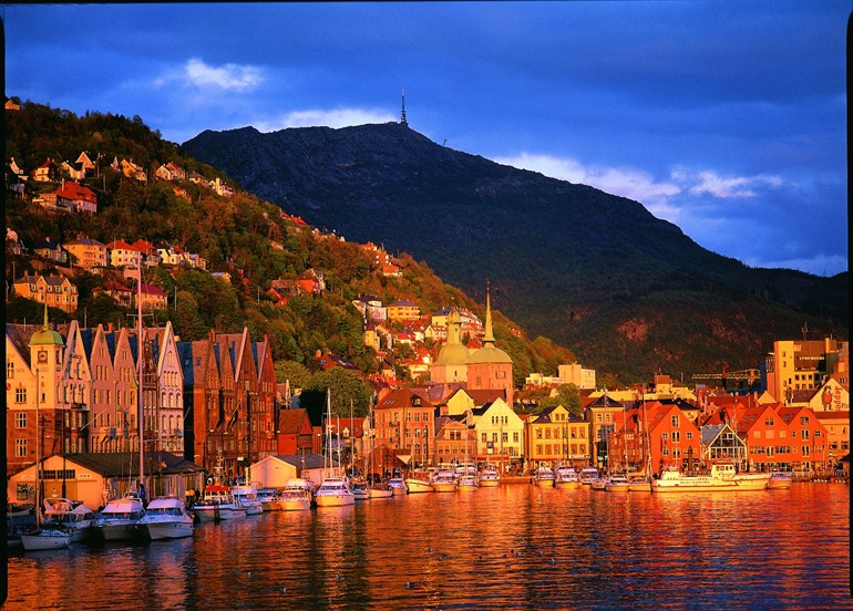 City break in Bergen